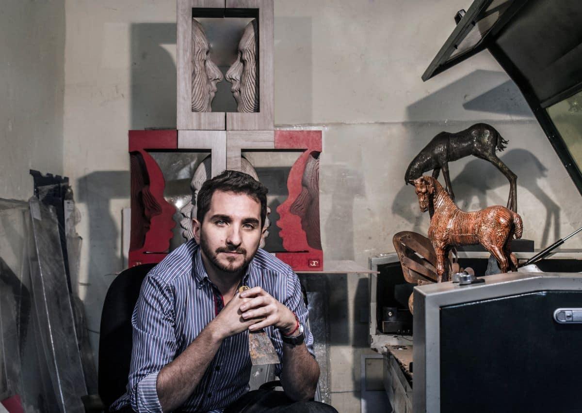 Joaquín Restrepo, un artista que le apuesta a la expansión y la exclusividad. -