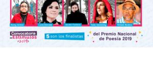 MinCultura anuncia finalistas de Premio Nacional de Poesía 2019 - noticias