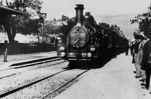 El arribo de un tren al 4K -