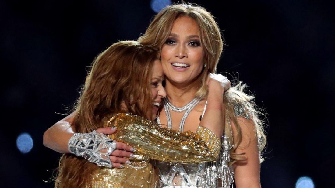 Shakira y Jennifer López, poder latino en el Super Bowl -