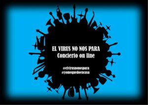 Artistas convocan a concierto online El Virus No Nos Para - noticias