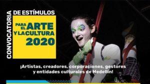 Secretaría de Cultura de Medellín abre convocatoria especial por cuarentena -