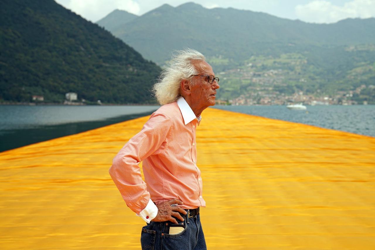 Murió Christo, el artista que envolvió islas y ciudades -