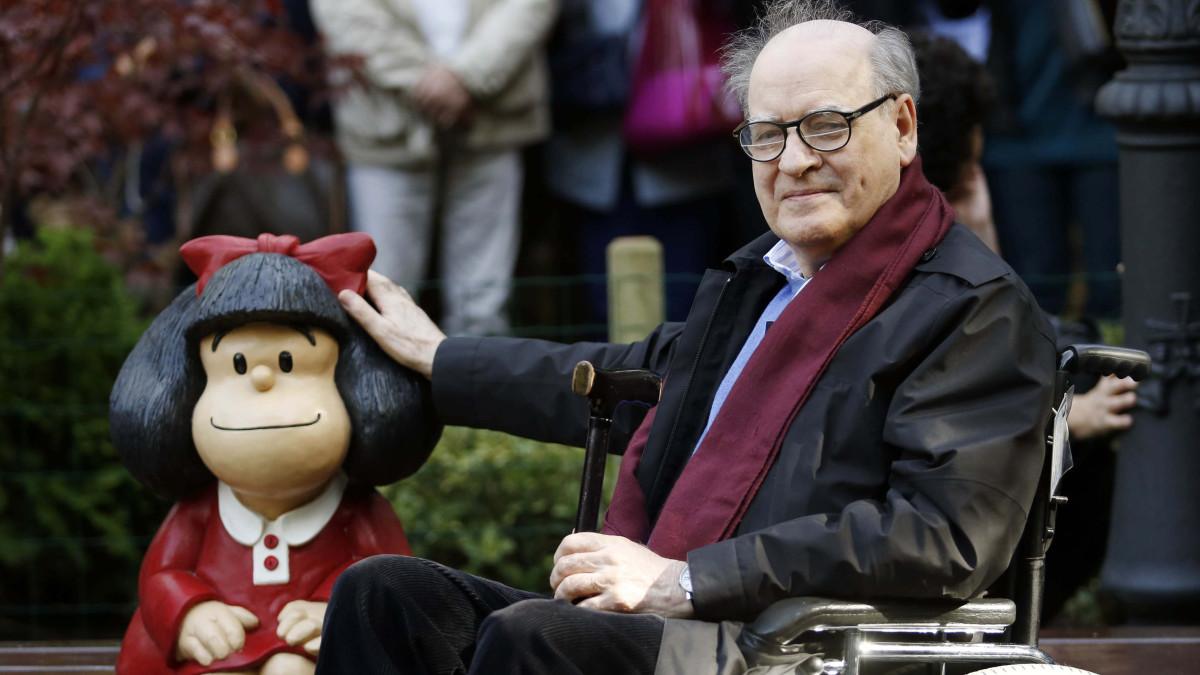 Murió Quino, padre de Mafalda -